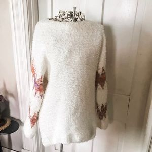NWOT! Fuzzy Tunic Length Sweater-Sz. M/L